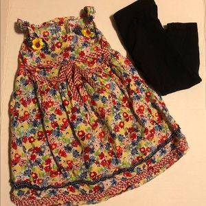 Youngland Girls 3T Floral Dress